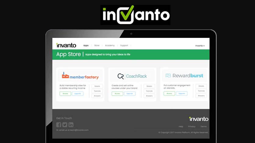 Invanto – All-In-One Suite Of Solutions To Help You Enhance And Build Your Business