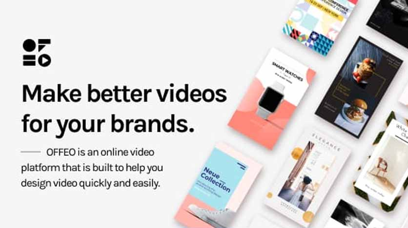 Offeo – Create, Design and Animate Amazing Online Videos In Minutes