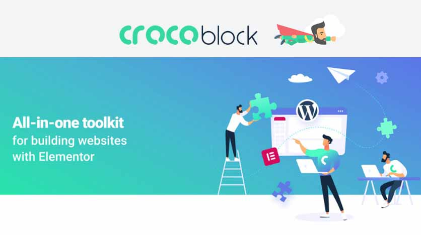 Crocoblock – All-In-One Suite Of Plugins To Enhance Building Websites With Elementor