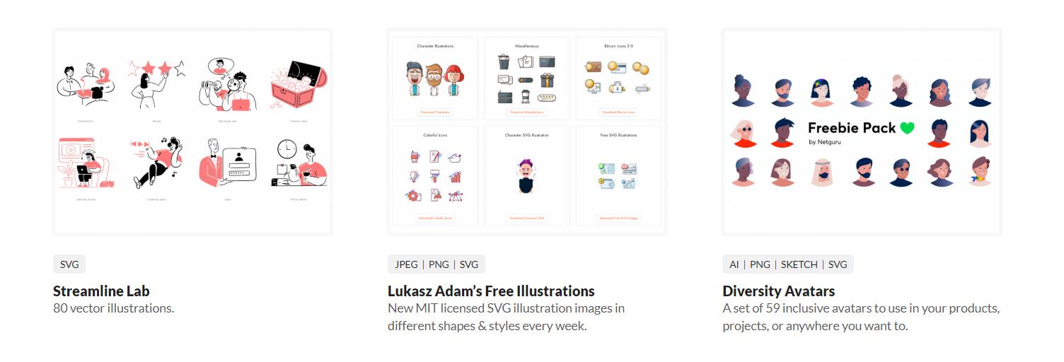 Beautiful Free Illustrations